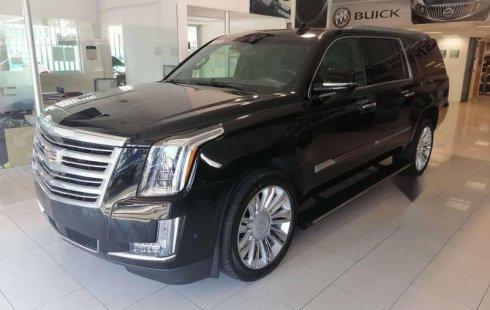 Cadillac Escalade Esv Platinum 2018 Negro