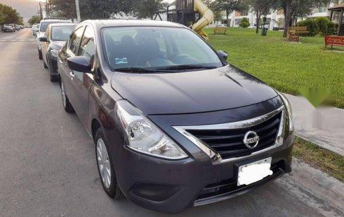 Nissan Versa 2016 Estándar Único Dueño