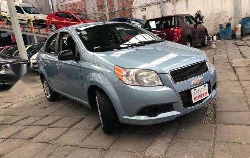 Chevrolet Aveo Lt T/A 2012