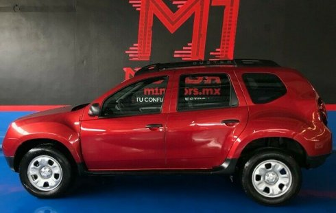 Renault Duster Expression T/A 2017 Rojo $ 179,000