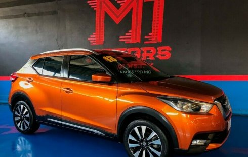 Nissan kicks Advance T/A 2018 Naranja $ 256,500