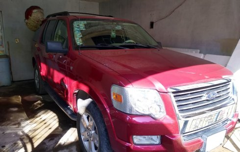 Ford Explorer 2008 Rojo