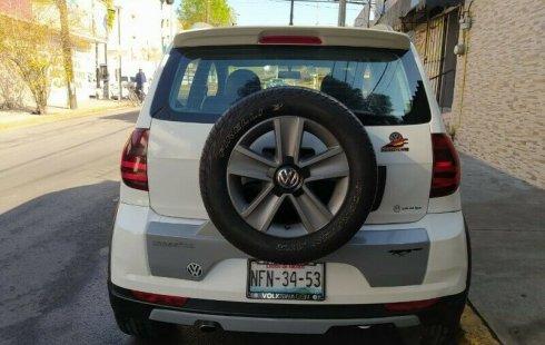 Volkswagen Crossfox 2012 Máximo Lujo Quemacocos Piel Rines Standar Cd Clima