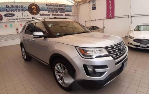 Ford Explorer 2016 5p Limited V6/3.5 Aut