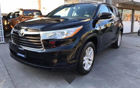 Toyota highlander LE 2015 factura original