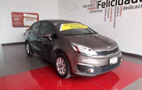 Kia KIA RIO SEDAN 2017 4p EX, TM6, VE, f niebla R-