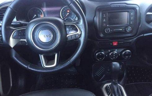Jeep renegade latitude seminueva
