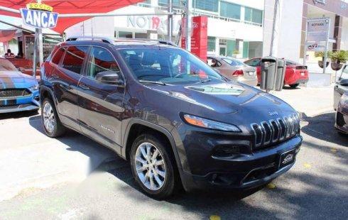 Jeep Cherokee 2017 5p Limited plus 4x2 L4/2.4 Aut