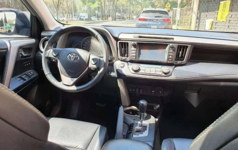 RAV4 2016 EXL PLUS QC FACTURA DE AGENCIA IMPECABLE