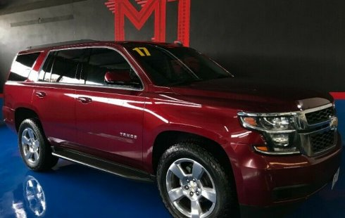 Chevrolet Tahoe LT Paq C T/A 2017 Rojo Carmin Metalico $ 538,000