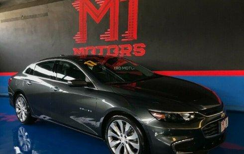 Chevrolet Malibu Premier T/A 2017 Gris Basalto Metalico $ 322,500
