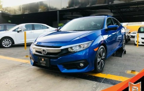 HONDA CIVIC TURBO PLUS AZUL METALICO 2016
