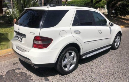 Mercedes benz ml500 seminueva 2 dueño impecable