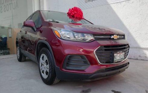 Chevrolet Trax 2017 Rojo Barroco