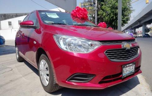 Chevrolet Aveo 2018 Rojo Cereza