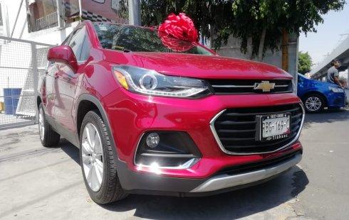 Chevrolet Trax 2018 Rojo Escarlata