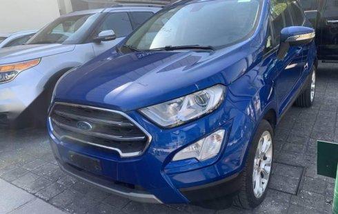 Ford Ecosport Titanium como nueva CRÉDITO