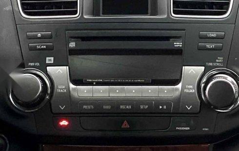 32337 - Toyota Highlander 2012 Con Garantía At