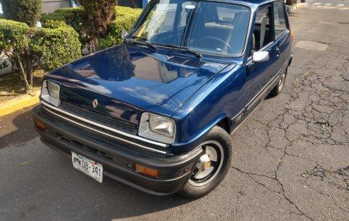 Renault R5 clásico factura original placas de auto antiguo