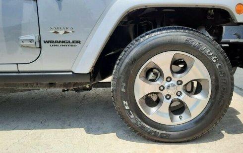 Jeep Wrangler Sahara 2017 Automático 6 Cil. 4x4 Piel 4 Puertas, Garantía, Crédito Sin penalizaciónes
