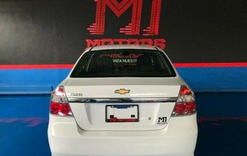Chevrolet Aveo LT Paq W T/M 2018 Blanco $ 147,600
