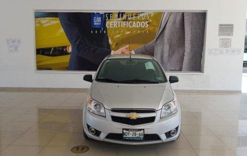 Chevrolet Aveo 2017 impecable en Tlalnepantla