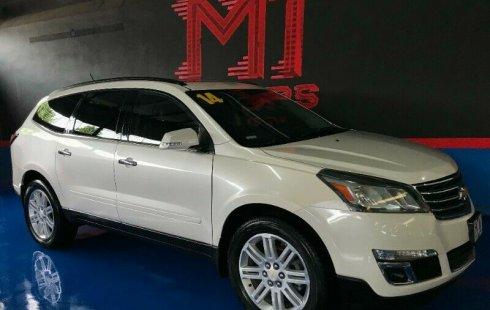 Chevrolet Traverse LT Paq B T/A 2014 Blanco Diaman $ 276,000