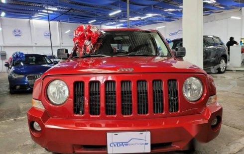 Jeep Patriot 2010 barato en Tlalpan