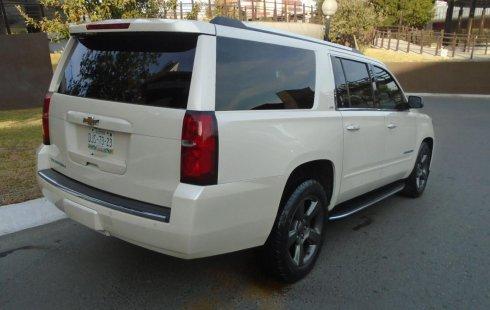Chevrolet Suburban LTZ 4x4 2015 impecable en Monterrey