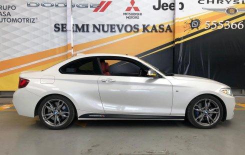 Auto BMW Series 2 2017 de único dueño en buen estado
