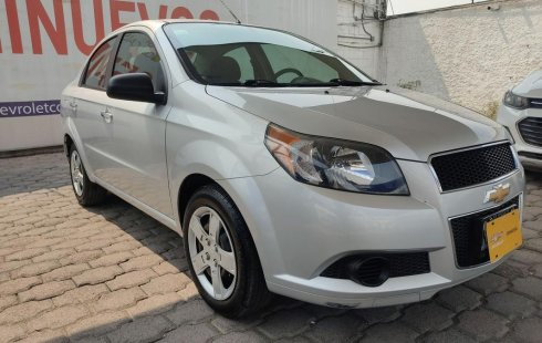 Se pone en venta Chevrolet Aveo 2017