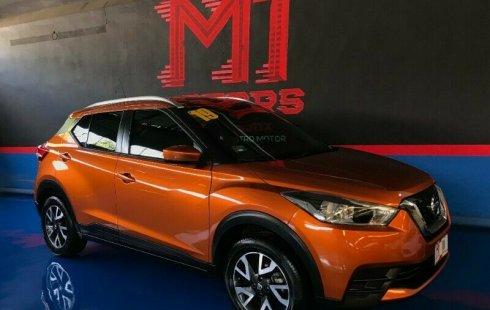 Nissan Kicks Sense T/M 2019 Naranja $ 269,800