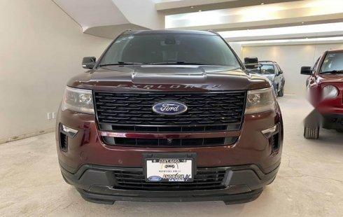 Ford Explorer 2018 usado en Benito Juárez