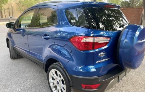 Ford Ecosport Titanium 2018 Única Dueña