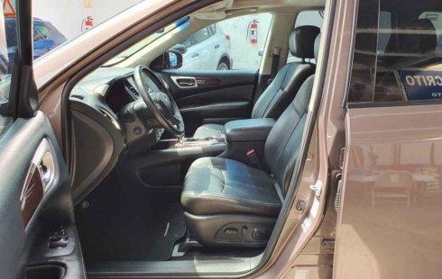 Auto Nissan Pathfinder Exclusive 2014 de único dueño en buen estado