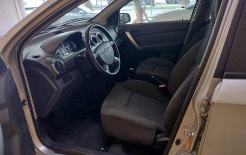 Chevrolet Aveo 2018 usado en Azcapotzalco