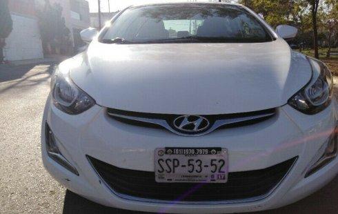 Hyundai Elantra GLS 2015 barato en Monterrey