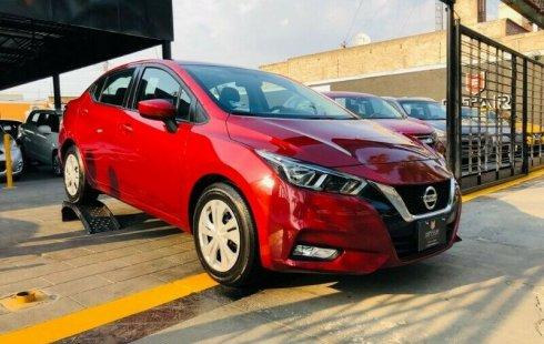 Auto Nissan Versa Sense 2020 de único dueño en buen estado