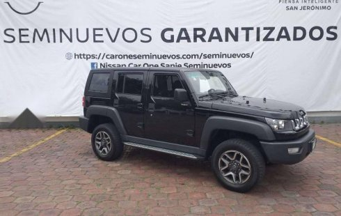 BAIC BJ40 OUT ROAD TOP 2018 NEGRO INTENSO
