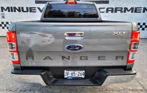 Ford Ranger XLT Crew Cab Diésel 4x4 2017 Seminueva