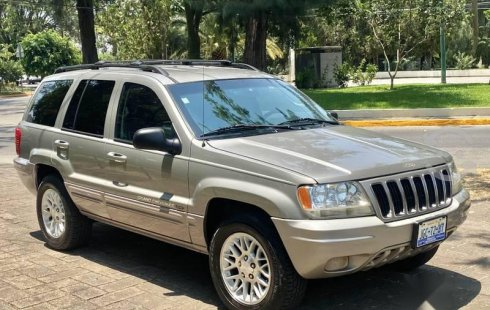 Jeep Grand Cherokee 2002 barato en Guadalajara