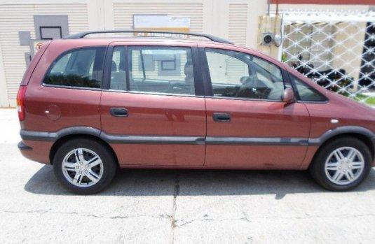 Chevrolet Zafira Usado En Jalisco 268441