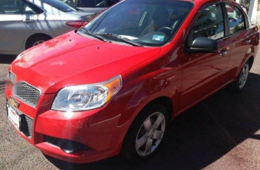Urge Un Excelente Chevrolet Aveo 2012 Manual Vendido A Un Precio