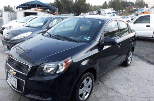 Chevrolet Aveo 2014 Negro $55,000