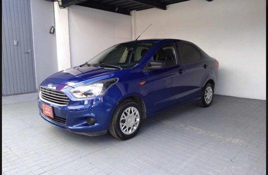 Ford Figo 2017 Azul $65,000