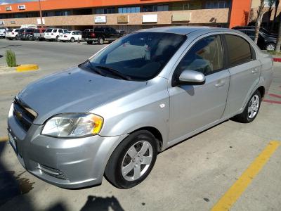 Un Carro Chevrolet Aveo 2007 En Tijuana 604892