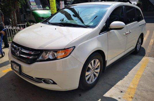 Honda Odyssey 2015 color blanco