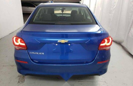 Carro Chevrolet Cavalier 2019 de único propietario en buen estado