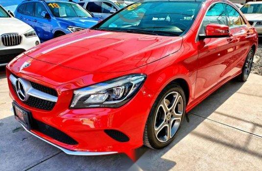 En venta carro Mercedes-Benz Clase CLA 2018 en excelente estado