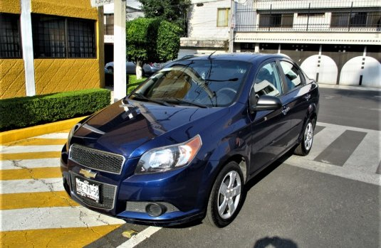 Aveo 2014 PAQ B Impecable